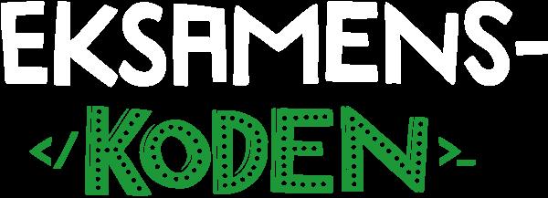 Eksamenskoden logo