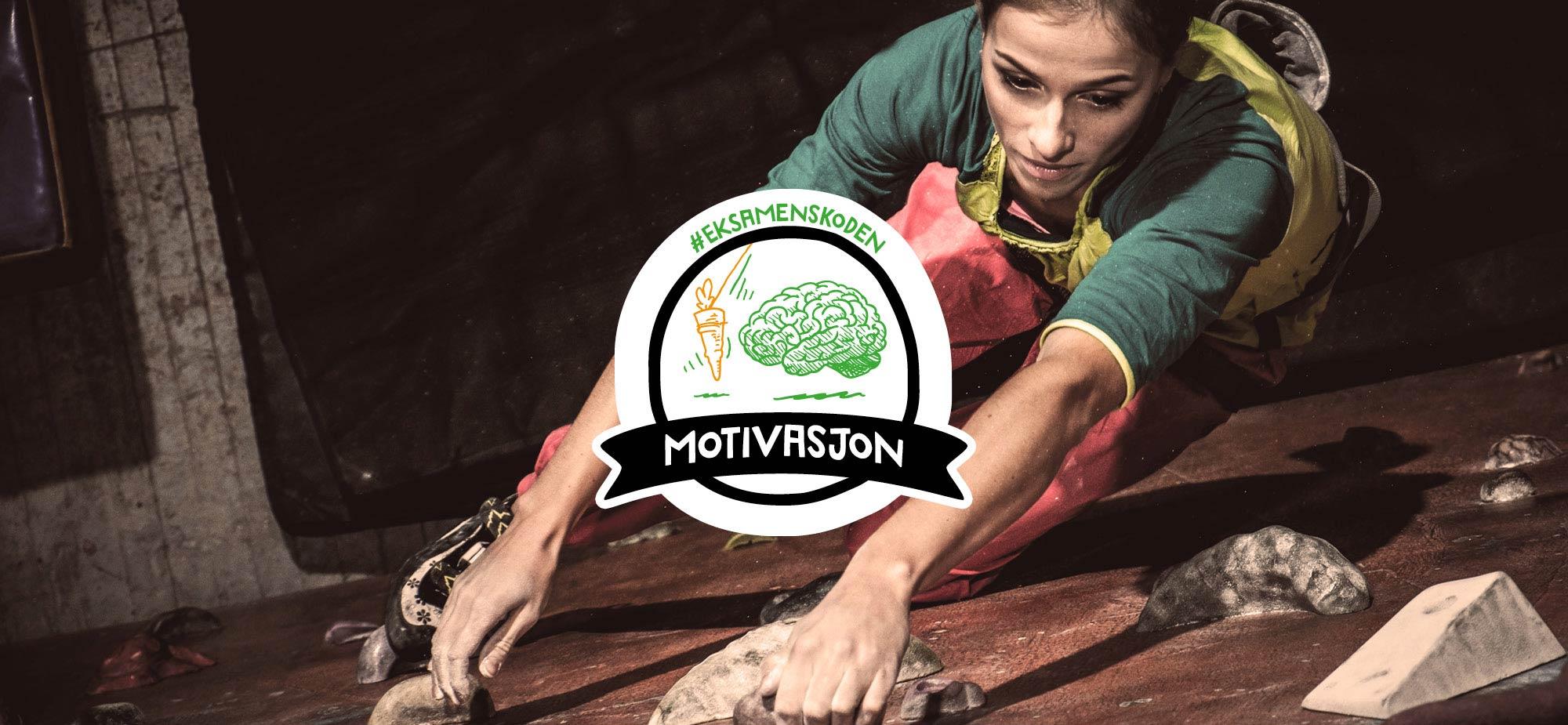 Eksamenskoden fokusområdet Motivasjon